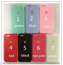 Ultra Thin Soft Silicone Back case with Apple Logo Cut for Apple iPhone 5 5S SE