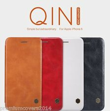 NILLKIN QIN Series Genuine Flip Wallet Leather Case For Apple iPhone 7