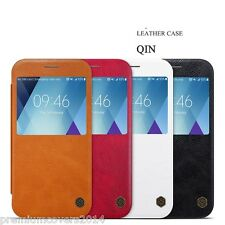 NILLKIN QIN Series Genuine Flip Wallet Leather Case Samsung Galaxy A7 (2017)