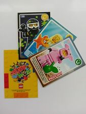 All Lego Create the World trading cards 1 - 140 Sainsburys including rare