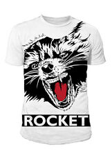 Guardians of the Galaxy 2 - Herren T-Shirt Rocket Sublimation - Weiss (S-XL)
