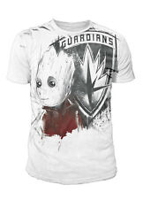 Guardians of the Galaxy Vol.2 - Groot Sublimation Herren T-Shirt Weiss (S-XL)