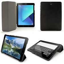 """PU Leather Smart Cover for Samsung Galaxy Tab S3 9.7"""" SM-T820 Stand Folio Case"""