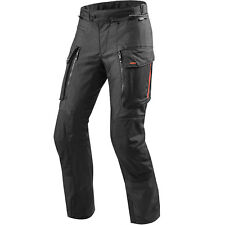 REV'IT! SABBIA 3 nero tessuto TEX TOURING MOTO MOTOCICLETTA Pantaloni Revit