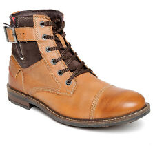 Lee Cooper Men S Tan Leather Boots lc2054
