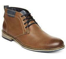 Lee Cooper Men tan Leather Casual Shoes lc1321