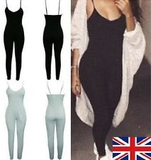 Women Ladies Girls Clubwear Playsuit Bodycon Party Jumpsuit Trousers UK