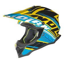 Nolan N53 Flaxy Cab Yellow Moto Motorcycle Motorbike Off Road Helmet | All Sizes
