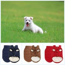 Pet Dog Winter Soft Warm Coat Sweater Puppy Chihuahua Fleece Vest Jacket Clothes