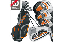 Wilson X31 Kit pacchetto SET COMPLETO Golf Club (Borsone con supporto)