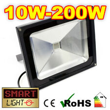 SmartLight Outdoor Garden/Security COOL WHITE LED Floodlight Flood Light 10W-50W