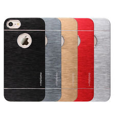 *Luxury*Metal Aluminum Motomo Hybrid Cover Case For Apple iPhone 4 / 4S *