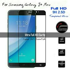 *3D Full Cover Tempered Glass Full HD Screen Protector For Samsung Galaxy J7 Max