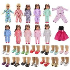 Cute Outfit Clothes Shoes for 18inch American Girl Our Generation My Life Dolls