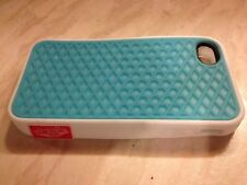 Light Blue And White iPhone 5/5s Silicon Phone Case