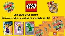 Sainsburys Lego Create the World Cards: Complete Your Album Set: Cheap, Discount