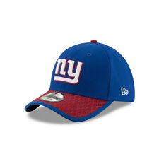 New Era NFL NEW YORK GIANTS Authentic 2017 Sideline 39THIRTY Stretch Fit Game Ca