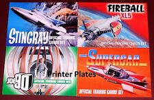 Gerry Anderson Collection XL5, Stingray, Joe 90, Supercar Print Plate Selection