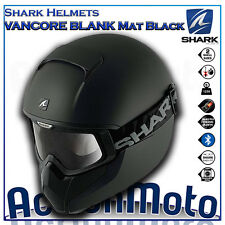 Casco Helmet Integral SHARK VANCORE Negro Mate moto scooter urban