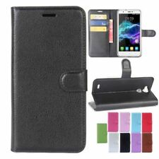 "For 5.5"" Blackview R6 Cell Phone PU Leather Flip Stand Wallet Case Cover"