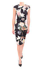 """TED BAKER """"CANDISS"""" FLORAL BLOOM FITTED WEDDING OCCASION DRESS BNWT UK6 RRP £159"""
