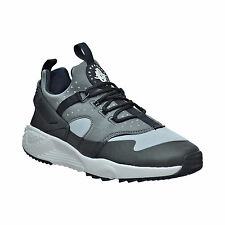 New Nike Men Air Huarache Run Utility Training Shoes Black/Gray 806807-003 **