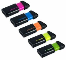 PULSE USB 2.0 Flash Drive 8GB-Pink 16GB-Blue 32GB-Orange 64GB-Yellow 128GB-Green