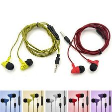 Cool estéreo In-Ear auriculares Micro para iPhone/Samsung 3.5mm