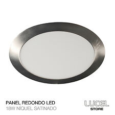 Downlight Redondo LED 18W Níquel satinado