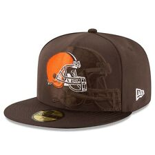 New Era NFL CLEVELAND BROWNS Authentic 2016 On Field 59FIFTY Game Cap NEU/OVP