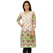 Skybe Multicolour Printed Kurtis For Women's & Girls