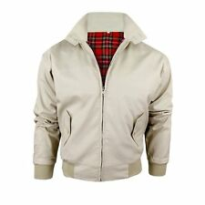 Oliver George Jacket - Oliver George Men's Harrington Jacket Sand