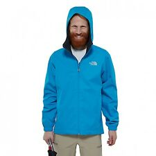 The North Face M Quest Chaqueta Negro Hiper Azul Impermeable toa8azqce-m