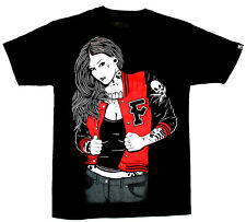 SALE! FATAL CLOTHING [LETTERMAN] T-SHIRT TATTOO ROCKABILLY COLLEGE INK  Fatal Cl