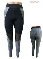 Ladies Yoga Fitness Leggings Running Gym Workout Active Wear Tight Pants Fishnet