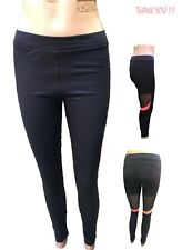Ladies Yoga Fitness Leggings Running Gym Workout Tight Patchwork Active Pants