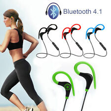 Senza Fili Sport Stereo Bluetooth Cuffia Auricolare wireless per iPhone Samsung