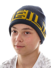O`Neill Beanie Knitted Cap Ski Cap Big Logo BLAU Padded Fleece