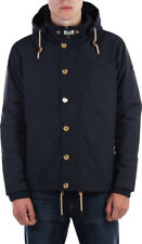 """NEW MENS WEEKEND OFFENDER PARKA NAVY JACKET """"Damon"""" Padded Quilted Hooded Coat"""