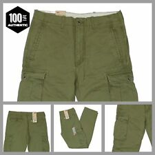 Levis Ace Cargo Pants Ivy Green Mens Relaxed Fit 100% Cotton MANY SIZES NEW