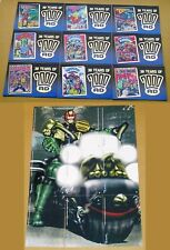 30 Years of 2000AD Judge Dredd Gold Foil Chase Set or Individual Cards F1 to F9