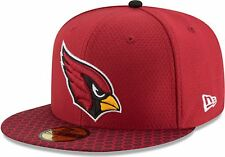 New Era - NFL Arizona Cardinals 2017 Sideline 59Fifty Cap - red