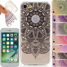 ULTRA SOTTILE TRASPARENTE MODA GEL TPU Custodia Morbida Cover per iPhone