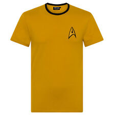 Star Trek officiel - T-shirt pour homme - uniforme Spock/Scotty/Capitaine Kirk