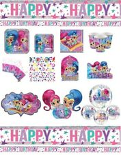 SHIMMER AND SHINE Birthday Party Pink Tableware Plates Cups Balloons Invitations