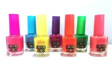 Glow in the Dark Neon Coloured Nail Polish For Artificial Nails, Great Gifts