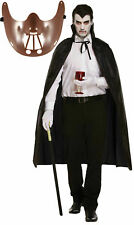 Halloween Hannibal Lecter Plastic Mask & Cape Scary Party Outfit