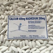 Calcio 400mg & Magnesio 200 Mg Pastillas (L)