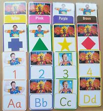 Mr Tumble First Learning Set - Alphabet Colours Shapes & Numbers - EYFS