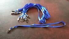 Neck Strap Lanyard With Metal Clip- Holder of multiple things autism work ID